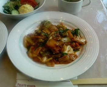 豚キムチ炒めセット