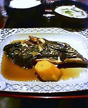魚定食(ソイの煮つけ)